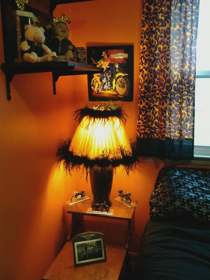 my harley davidson bedroom