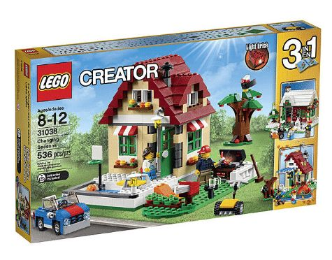 Kmart has Lego's on sale SYWR points e.g LEGO Creator - Changing Seasons for $39  $11 in points  FS for SYWR ... #LavaHot http://www.lavahotdeals.com/us/cheap/kmart-legos-sale-sywr-points-lego-creator-changing/146675?utm_source=pinterest&utm_medium=rss&utm_campaign=at_lavahotdealsus