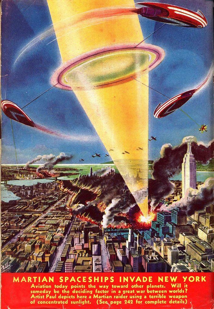 С.Соболев: Космические корабли марсиан вторгаются в Нью-Йорк
