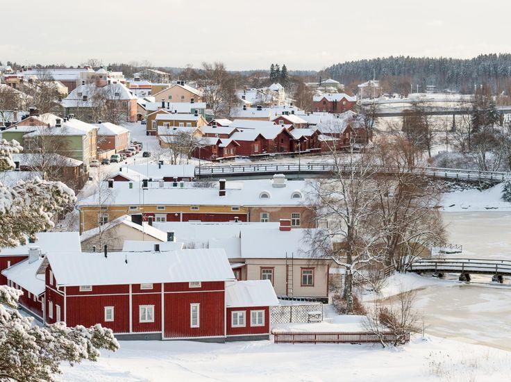 Snowy Porvoo by Teemu Tretjakov on 500px