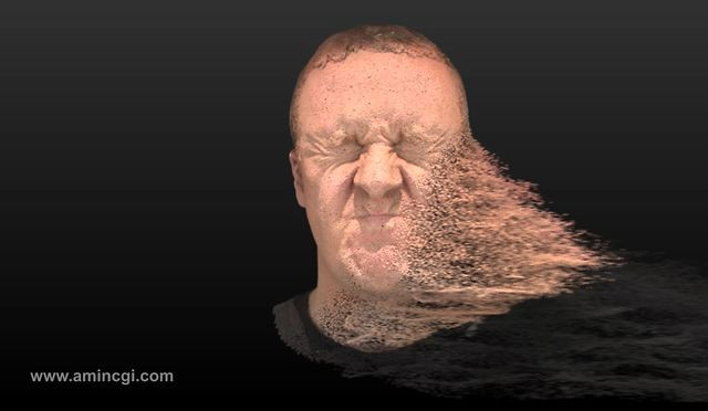 Particle Head Use : Softimage & Arnold Render www.amincgi.com Particle,粒子化,分子化