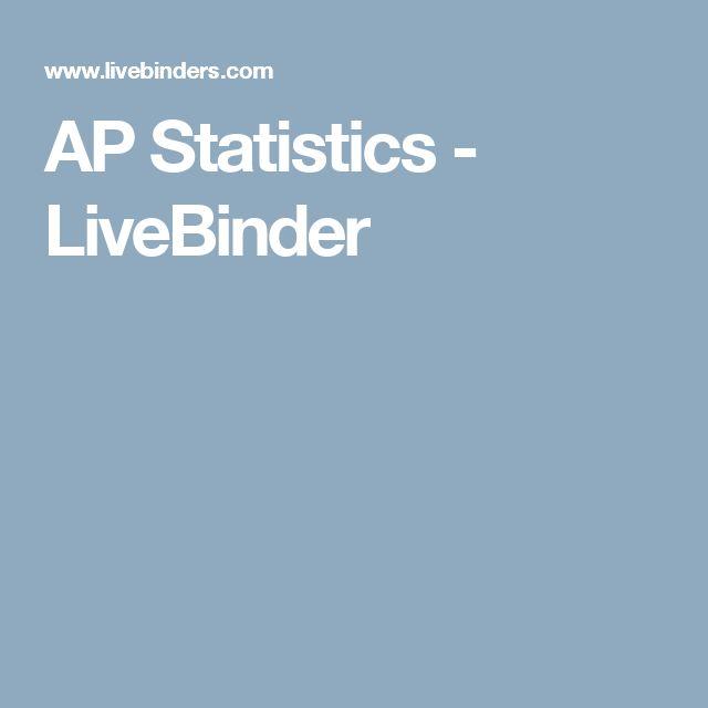 AP Statistics - LiveBinder