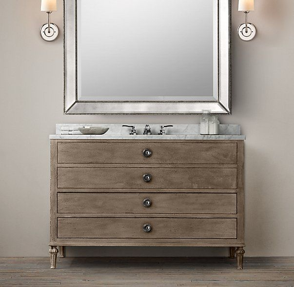 Large Vanity In Guest Bath Maison Extra Wide Single