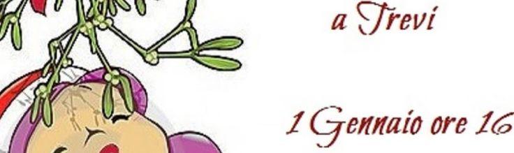 1 gennio 2016 ore 16 a Trevi. Un simpatico momento da vivere in allegria!! Festeggiamo il 1 giorno dell'anno con 'Baciamoci sotto il vischio'...Un bacio... tenero, 'profondo', ingenuo, appassionato, da film, inaspettato, di gruppo, sulle labbra o sulla guancia non fa differenza! Vi aspettiamo a Trevi, in tanti...tutti in Piazza Mazzini alle ore 16 del 1° gennaio per il flash mob...dal Palazzo del Municipio verrà dato il Via e partirà il Bacio... perchè chi si bacia il 1 dell'anno si bacia…