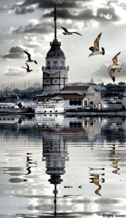 Maiden Tower-İstanbul-Turkey