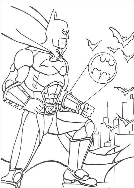 Batman coloring page 1 Wallpaper