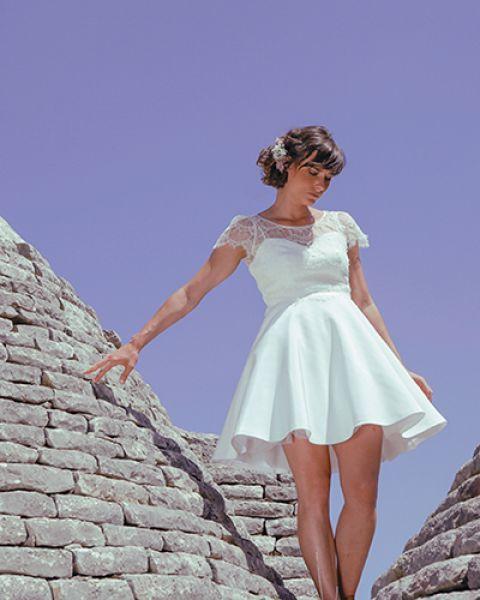 Robes de mariée Elodie Michaud 2017 : un univers follement bohème ! Image: 7
