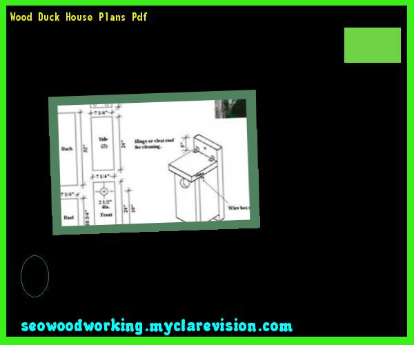 Wood Duck House Dimensions 214339 - Woodworking Plans and Projects ...