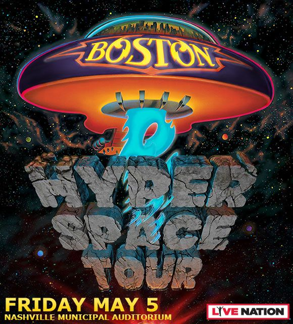 Boston Hyper Space Tour May
