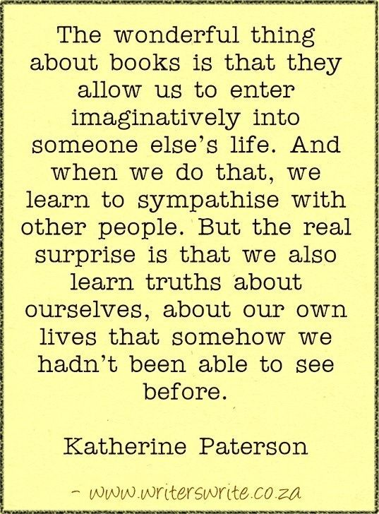 Quotable - Katherine Paterson - Writers Write Creative Blog