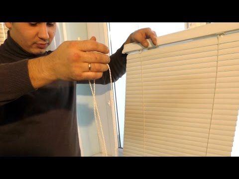 Ремонт жалюзи на пластиковых окнах своими руками | Жалюзи в Уфе - YouTube