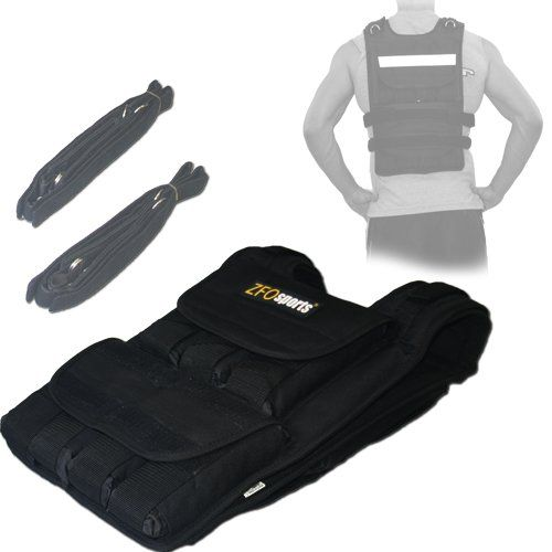 """A weighted workout vest allows you to get more """"miles"""" out of your bodyweight workouts by allowing you to properly overload your muscles."""