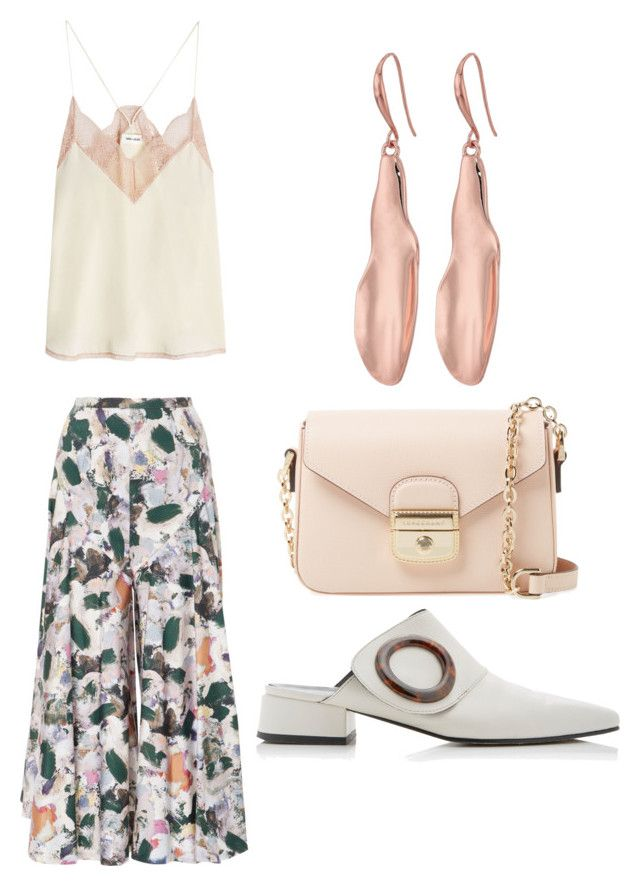 """Untitled #122"" by denisapurple on Polyvore featuring Christine Alcalay, Zadig & Voltaire, Longchamp and Robert Lee Morris"