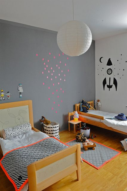 chambre d'enfants   Kids Room   Quarto criança    Une chambre d'enfant inspirante, cote-enfants.com