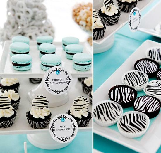 tiffany blue birthday ideas