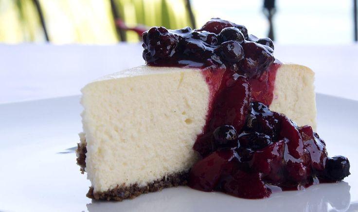 The Best Cheesecake I've Ever Had / @DJ Foodie / DJFoodie.com