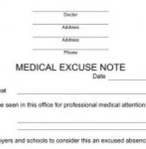 Best Best Fake Doctors Notes Images On   Doctors