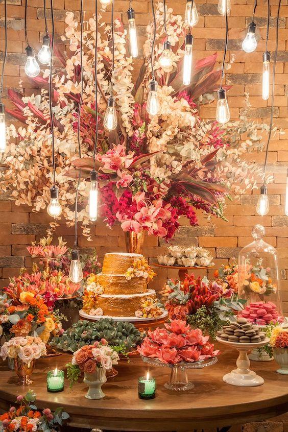decoração Festa de Noivado