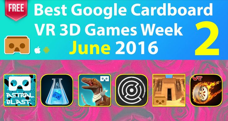 #VR #VRGames #Drone #Gaming Best Google Cardboard VR 3D Games Week 2 June 2016 for Android & iOS #pop2review, 3D SBS, 3d side by side, 3d vr, best gear vr games, best google cardboard games, Best VR games, free google cardboard games, free vr games, game for google cardboard, google cardboard game, top google cardboard games, Top VR games, virtual reality, virtual reality games, virtual reality glasses, virtual reality headset, virtual reality toronto, virtual reality video,