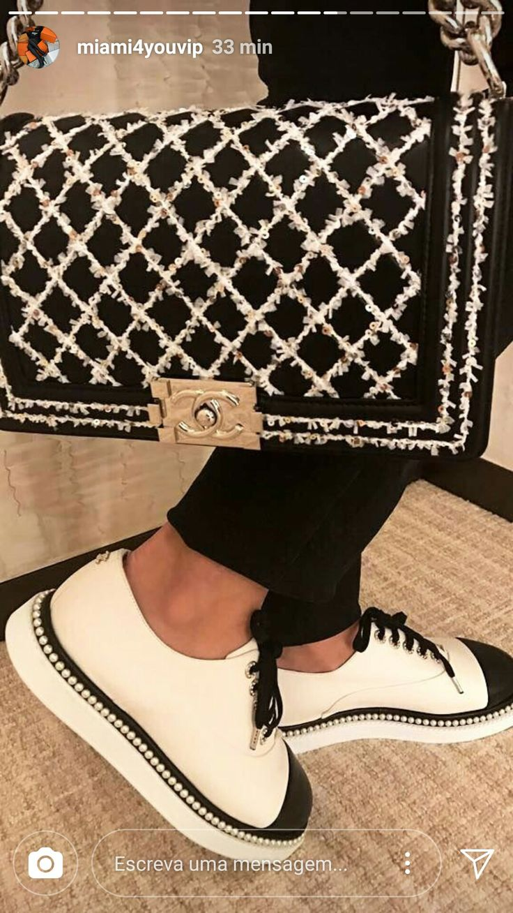 Chanel bag and shoes