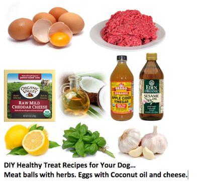 Ottawa Valley Dog Whisperer : Homemade DIY Natural, Healthy Dog Treats - Recipes and Health Benefits