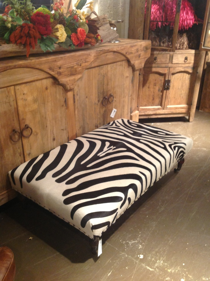 Zebra Skin Coffee Table For The Home Pinterest