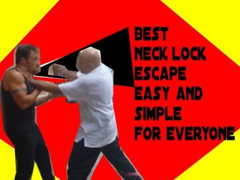 Best Guaranteed Escape from Neck Lock Aggression