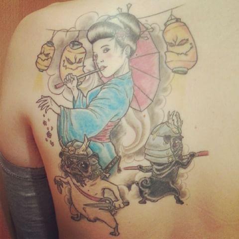 #ig #igers #igersbcn #instagramers #instagram #photdroids #andrography #fotodroids #instadroid #clubsocial #tattoo #tattoos #tatuaje #tatuaje #geisha #pugs #pugstattoo #pugtattoo #geishatattoo #carlino #carlinos #tatuajecarlino #tatuajecarlinos #tattoocarlino #tattoocarlinos #tatuajegeisha #geishatattoo