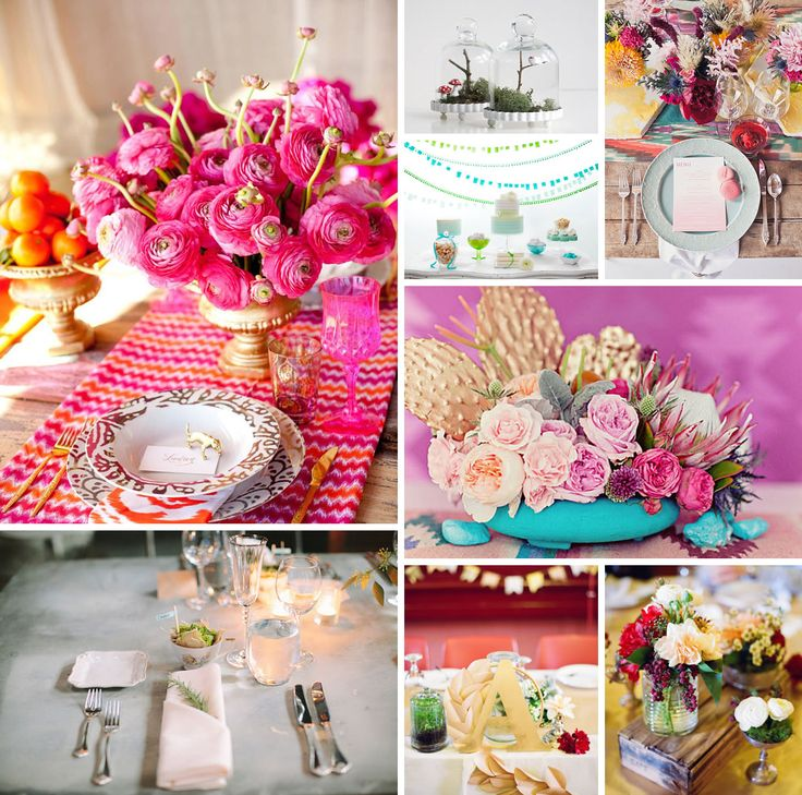 185 best garden engagement party images on pinterest wedding 20 wedding table decor ideas junglespirit Image collections