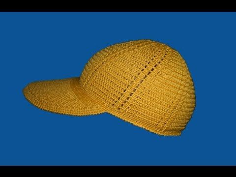 Бейсболка. Часть I - Baseball cap. Part I - YouTube