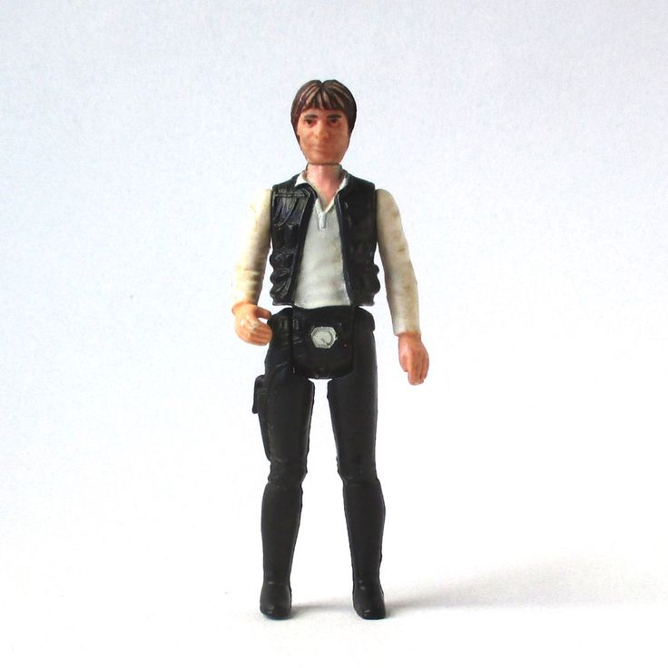 Han Solo Star Wars Figure, 1977,Jedi, Star Trek, Space Toys, Luke Skywalker, Darth Vader, action figure by QuirkMuseum on Etsy