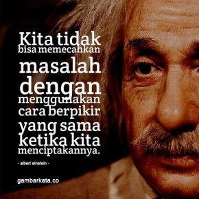 Gambar Kata Kata Bijak Albert Einstein
