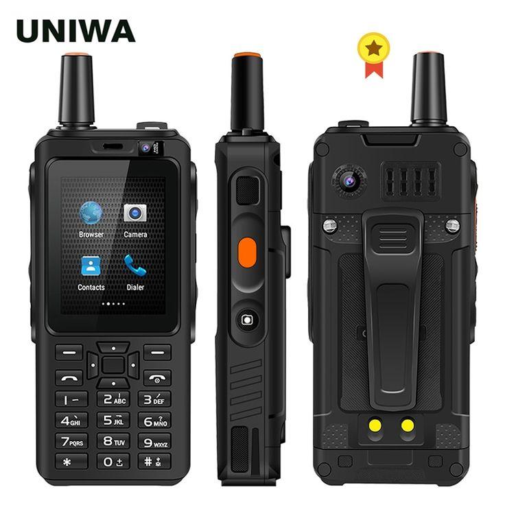 UNIWA F40 Zello Walkie Talkie 4G Mobile Phone 4000mAh