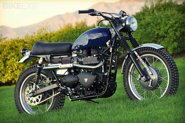 It was a problem of Robert Jordan's own making, and it smacked him upside the head every time he ventured into his garage. There sat a perfectly restored 1960s Triumph 650 desert sled, looking like it just came out of Steve McQueen's garage. Right next to it, his modern ride, a 2007 Triumph Scrambler—and the…