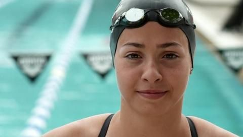 Rio 2016: Syrian refugee fulfilling Olympic swimming dream - BBC Sport