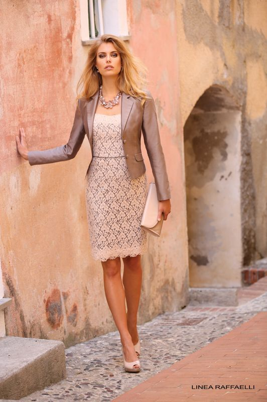 Jurk Bruiloft Feest.Linea Raffaelli 40177 Clothes Fashion Dresses Fashion En Linea