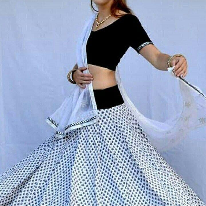 Cotton gopi skirt
