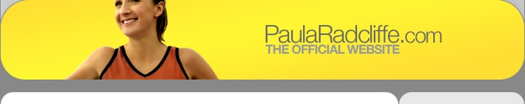 Paula Radcliffe is one of my fave runners... world class athlete and person!  Her website.