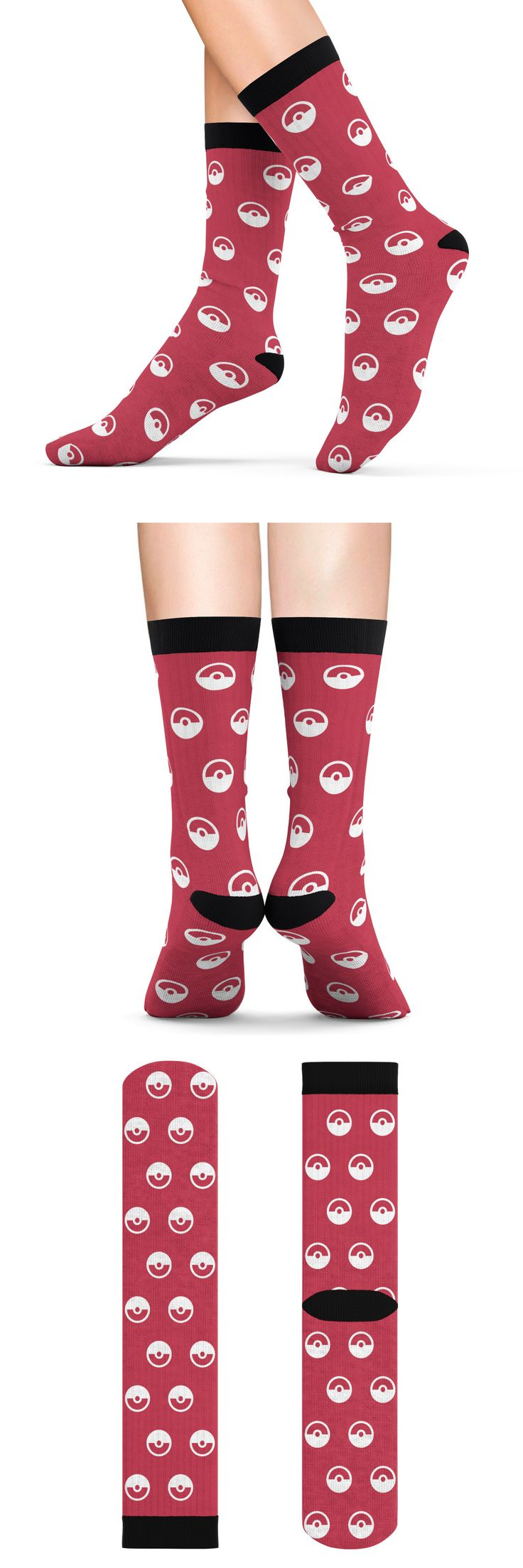 #pokemon #nintendo #pokeball #anime #videogame #socks #trinketgeek