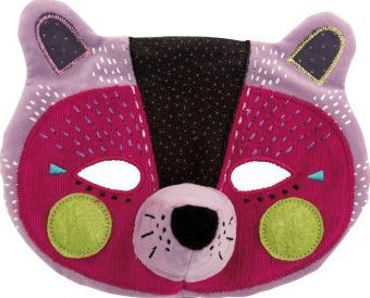 Moulin Roty Esther the panther mask `One size Age : From 3 years old Details : Cotton, Polyester, Polyamide, Elastane 14 x 18 cm. Hand wash only, Do not tumble dry http://www.comparestoreprices.co.uk/january-2017-7/moulin-roty-esther-the-panther-mask-one-size.asp