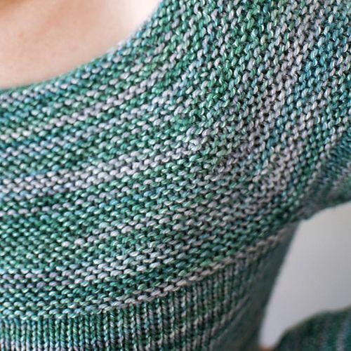Ravelry: free Smitten Pullover pattern by Handmaiden Yarns