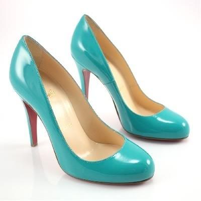 sports shoes a0814 16a02 Artesur » christian louboutin Ron Ron 100 pumps Grey patent ...