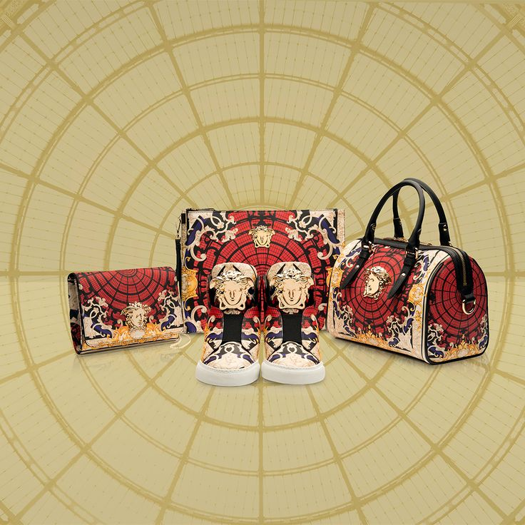Versace pays tribute to the city of Milan through the unique Ornamental Collection. Exclusively available at the Versace boutique in the Galleria Vittorio Emanuele II in Milan and online for Europe on versace.com #VersaceOrnamental