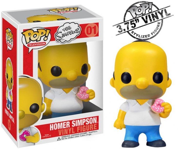 Figurine Simpsons représentant Homer, le père de famille de Bart et Lisa. #logostore #simpsons