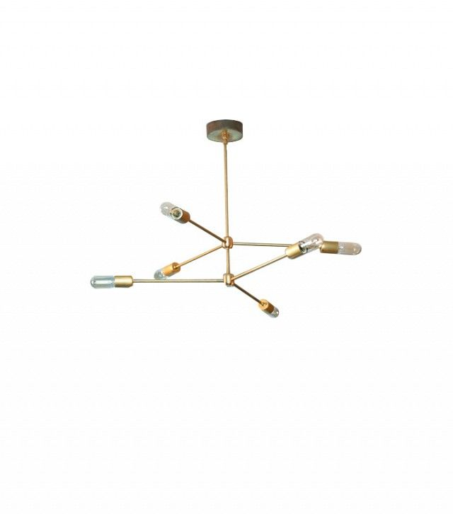 Our Absolute Favorite Sputnik Light Fixtures on the Market via @domainehome