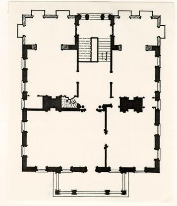 Miles Brewton House, Charleston, South Carolina, 1765 1769   2nd Floor Plan  | Architecture | Pinterest | Charleston South Carolina And Architecture