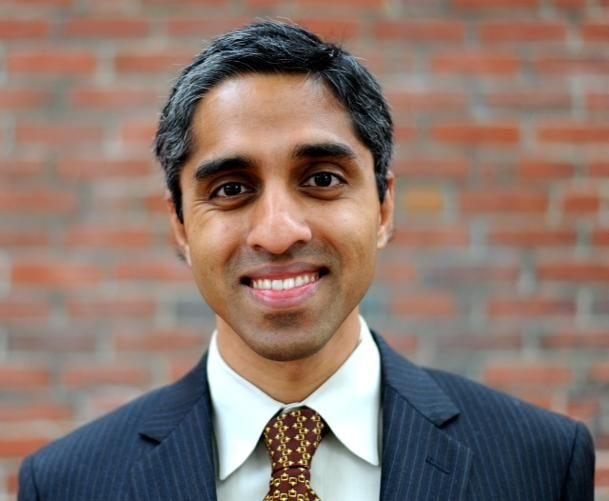 *|* Harvard/Brigham & Women's Dr. Vivek Murthy is Obama's pick for the next US surgeon general.