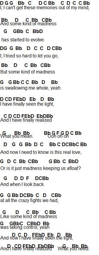 cough syrup sheet music pdf