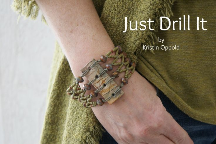 Just Drill It - A Tutorial on Drilling Stone and Other Material (by Kristin Oppold)