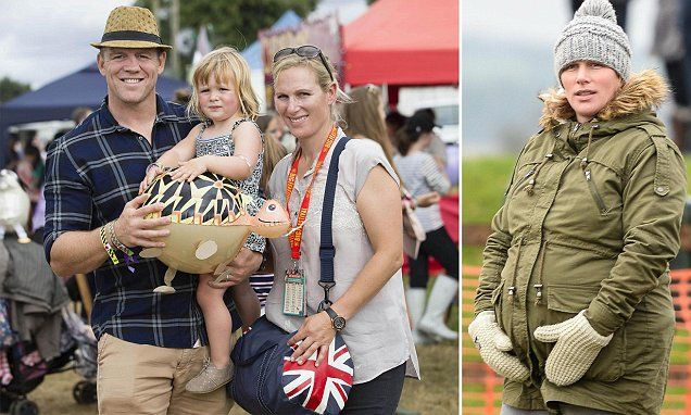Mike Tindall and wife Zara Phillips are expecting their second child